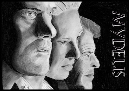 Joshua Jackson, John Noble, Anna Torv by Mydeus